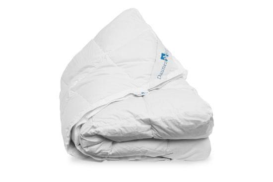 Daunen Step Perina zo špeciálne upraveného polyesterových vlákien v bavlnenom poťahu, 155 x 220 cm, Classic Winter