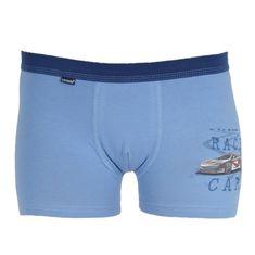 Cornette Dětské boxerky Young modré (700/107) - velikost 146