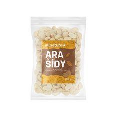 Allnature Arašídy pražené nesolené loupané 100 g