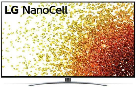 "LG 55NANO923PB 55"" (139,7 cm ) 4K Ultra HD Wi-Fi Smart TV α7 4. generációs intelligens processzor 4K Dolby Vision Dolby Atmos Fekete színben"