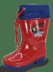 Disney The Cars D5010121S fantovski škornji, 24, rdeči