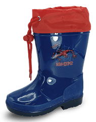 Disney Spiderman R1310222S fantovski škornji, 25, temno modri