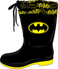Disney chlapčenské gumáky Batman W1020014S 24 čierna