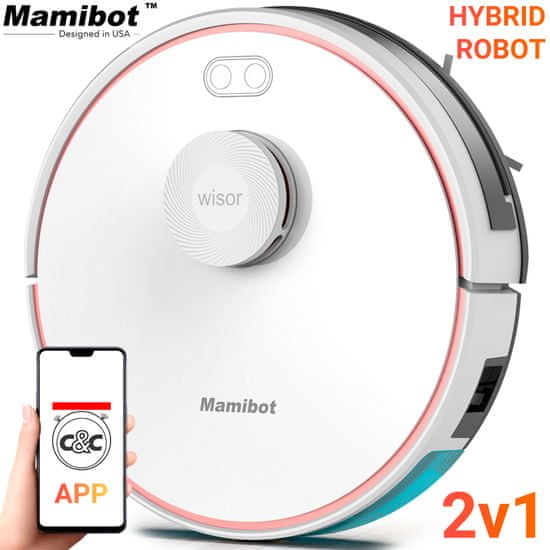 Mamibot robotický vysavač Exvac880 Wisor