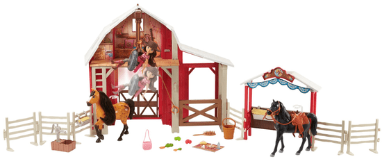 Mattel Spirit Vychytaná stajňa herný set