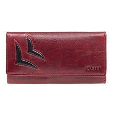 Lagen Ženska usnjena denarnica 6011/T Rdeča / Bl