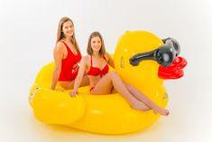 DIDAK Nafukovací lehátko Duck - Kačer 205 x 193 x 110 cm