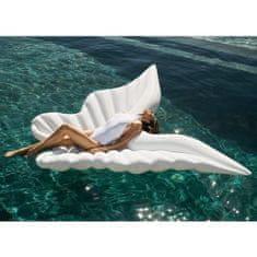 DIDAK Nafukovací lehátko Mega andělská křídla bílá - 250 x 130 x 15 cm