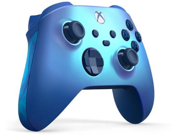 Microsoft Xbox Wireless Controller, Aqua Shift Special Edition (QAU-00027)