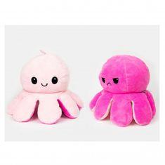 InnoGIO plyšová chobotnice 16cm Pink