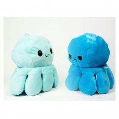 InnoGIO plyšová chobotnice 16cm Blue