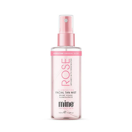 Minetan Rozjasňujúce ružová voda (Illuminating Rose Water) 100 ml