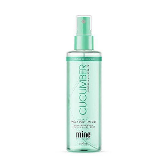 Minetan Pleťová a telová hmla s uhorkou (Cucumber Hydrating Face & Body Mist) 177 ml