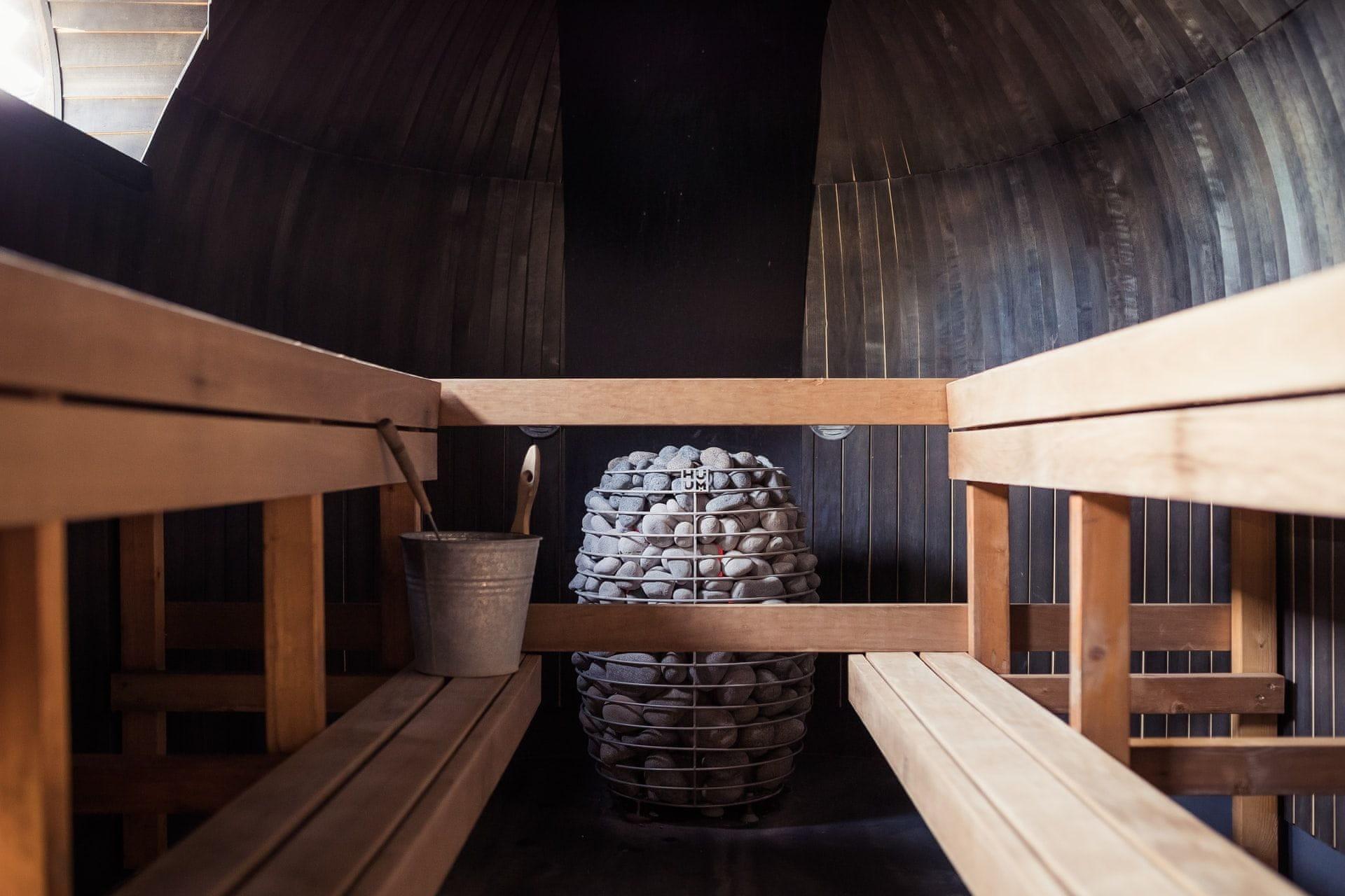 Jaké je optimální rozložení sauny