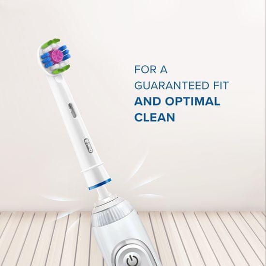Oral-B 3D White glava četke s tehnologijom CleanMaximiser, pakiranje sa 4 komada