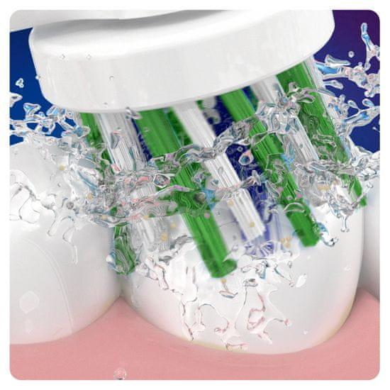 Oral-B CrossAction glava četke s tehnologijom CleanMaximiser, pakiranje sa 4 komada