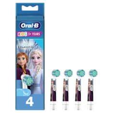 Oral-B Kids Ľadové Kráľovstvo 2 kefkové hlavice pre elektrickú kefku, 4 ks