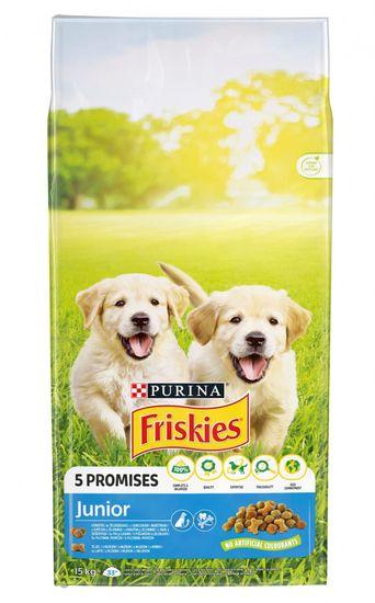 Friskies Junior kutyatáp 15kg