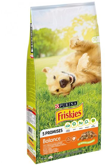 Friskies hrana za pse Adult balance, 15 kg