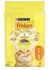 Friskies Cat z kurczakiem i warzywami, 10 kg