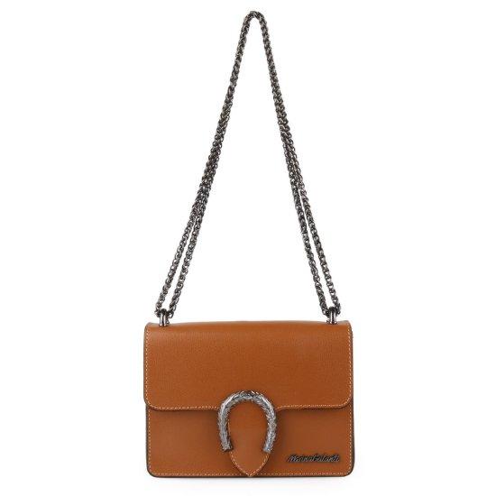 Marina Galanti Dámska kožená kabelka cez rameno MBP008SR1