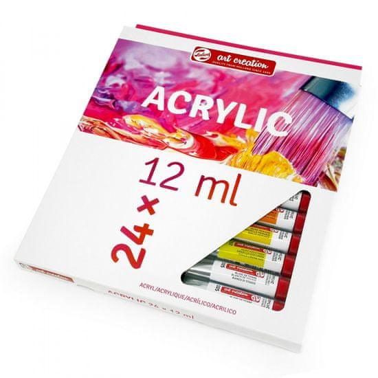 Talens Art Creation akrylové farby sada 12ml, 24ks