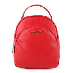 Marina Galanti Dámsky kožený batoh MBP002BK1 červená