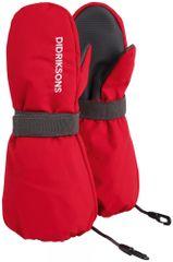 Didriksons1913 detské rukavice D1913 Biggles 503939-314 0 - 2 červená