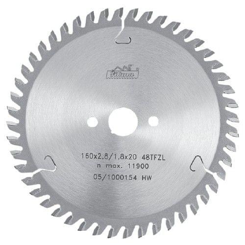 Pílový kotúč SK 190x2,8x30 z54, 5391 TFZL, PILANA