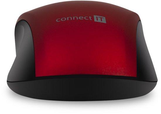 Connect IT Mute, červená (CMO-2230-RD)