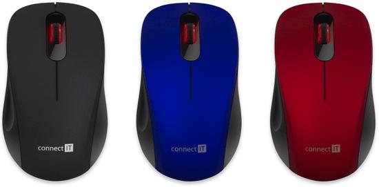 Connect IT Mute, modrá (CMO-2230-BL)