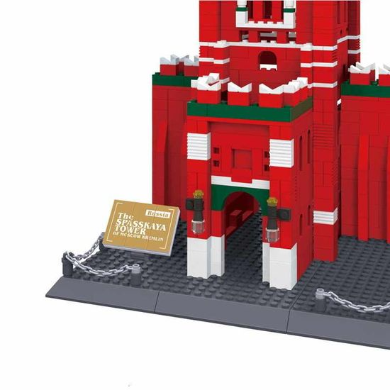 Wange Wange Architect stavebnica Spasská veža - Kremeľ kompatibilná 1046 dielov