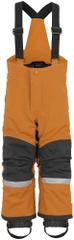 Didriksons1913 detské zateplené nohavice D1913 Idre 503829-251 80 oranžová