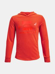 Under Armour Pulover UA RIVAL TERRY HOODIE-ORG XL