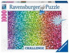 Ravensburger 167456 Challenge Puzzle: Glitter 1000 elementów