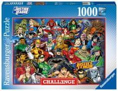 Ravensburger 168842 Challenge Puzzle: DC: Liga sprawiedliwości 1000 elementów