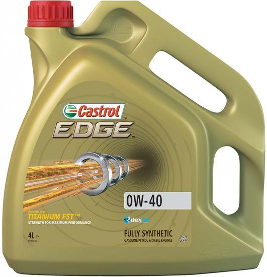 CASTROL  EDGE 0W-40, 4L