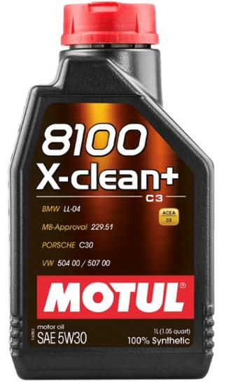 Motul  8100 X-clean+ 5W-30, 1L
