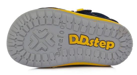 D-D-step dječačke barefoot kožne tenisice S070-520