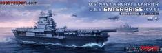 Meng U.S Navy aircraft carrier Enterprise CV-6 1/700