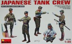 MiniArt Japanese Tank Crew 1/35