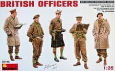MiniArt British Officers 1/35