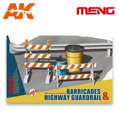 Meng Barricades & Highway Guardrail 1/35