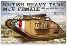 Meng British Heavy Tank Mk.V Female 1/35