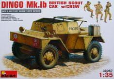 MiniArt DINGO Mk.Ib British Scout Car with crew 1/35