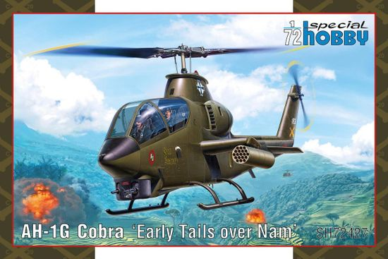 Special Hobby AH-1G Cobra Early Tails 1/72