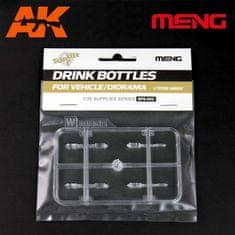 Meng Drink Bottles for Vehicle/Diorama(4types) 1/35