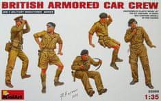 MiniArt British Armored Car Crew 1/35