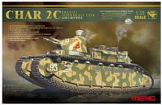 Meng Char 2C French Super Heavy Tank 1/35