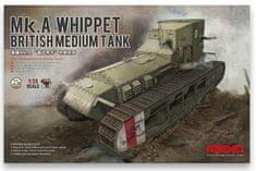 Meng British Medium Tank Mk.A Whippet 1/35
